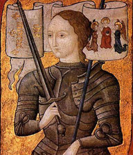 Earliest depiction of Joan of Arc