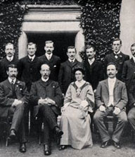 Constance Andrews and TUC Reception Committee 1909