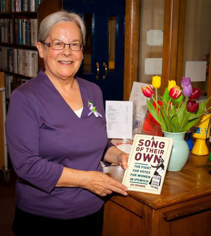 Joy Bounds at the Launch of A Song of Their Own